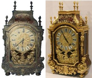 Louis XIV Boulle Marquetry Clock by Coquerel 1695 - 1700