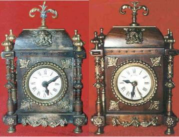 Restored Gustav Becker Alarm Clock