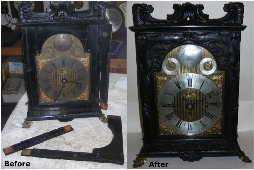 Some Restorations Completed at Clocks of Yore